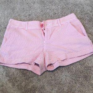 Lily Pulitzer seersucker shorts